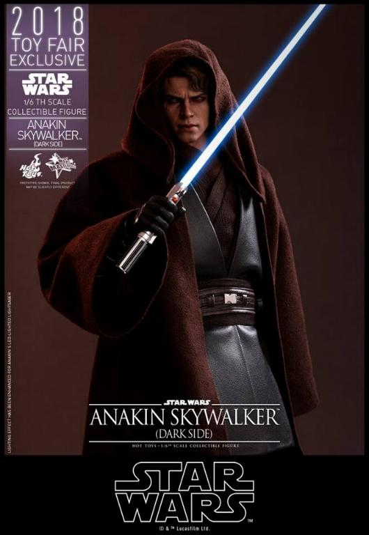Hot Toys Star Wars Ep.III - 1/6th Anakin Skywalker Dark Side Anakin11