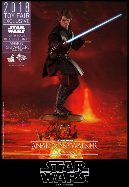 Hot Toys Star Wars Ep.III - 1/6th Anakin Skywalker Dark Side Anakin16