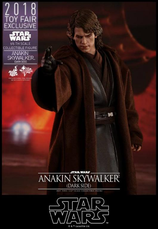 Hot Toys Star Wars Ep.III - 1/6th Anakin Skywalker Dark Side Anakin25