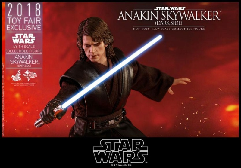Hot Toys Star Wars Ep.III - 1/6th Anakin Skywalker Dark Side Anakin32
