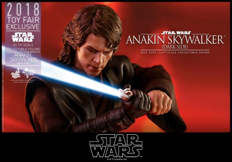 Hot Toys Star Wars Ep.III - 1/6th Anakin Skywalker Dark Side Anakin34
