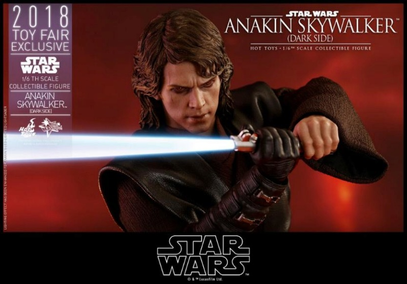 Hot Toys Star Wars Ep.III - 1/6th Anakin Skywalker Dark Side Anakin35