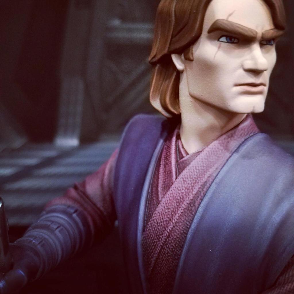 Star Wars: The Clone Wars Anakin Bust - 1:7 - Gentle Giant Anakin53