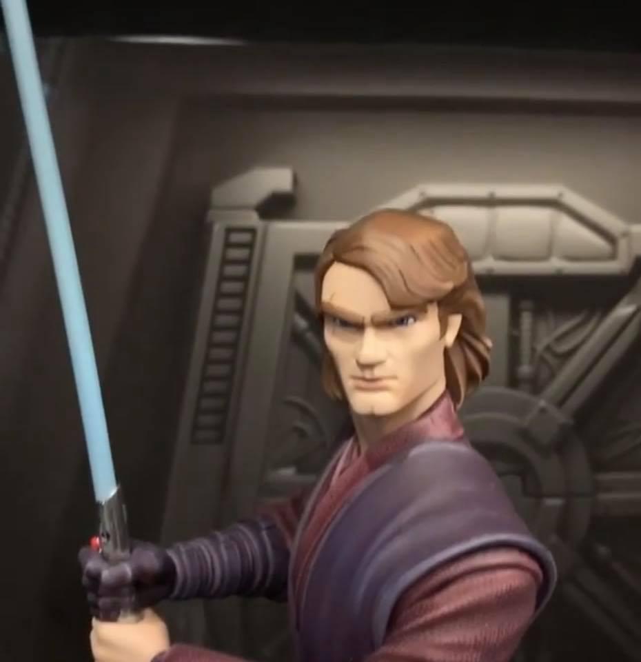 Star Wars: The Clone Wars Anakin Bust - 1:7 - Gentle Giant Anakin55