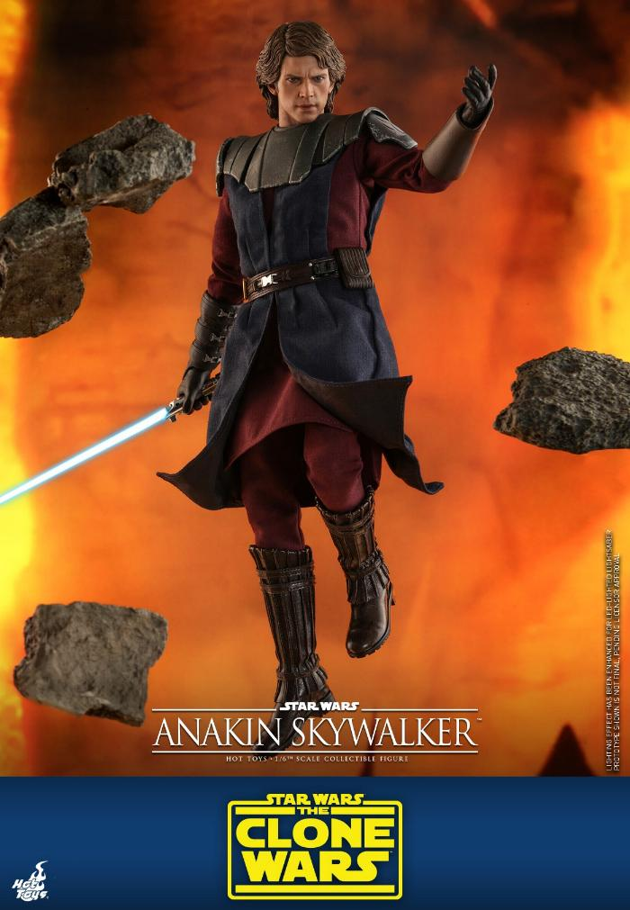 Anakin Skywalker (The Clone Wars version) Sixth Scale Figure Anakin56