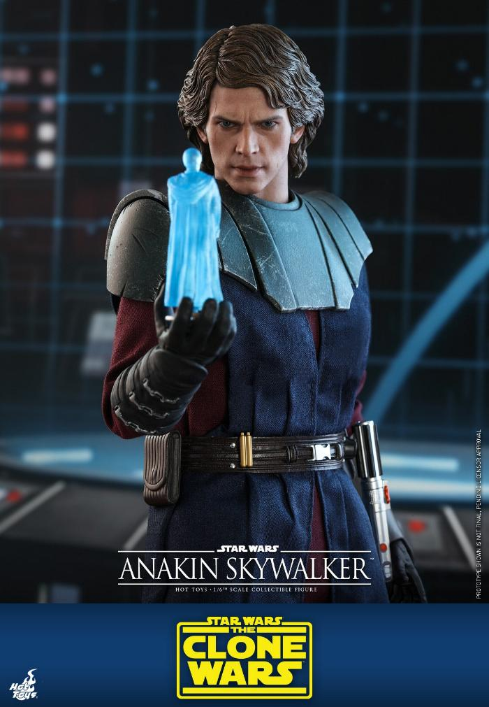 Anakin Skywalker (The Clone Wars version) Sixth Scale Figure Anakin57