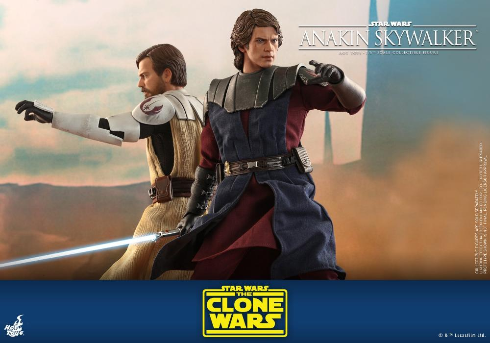 Anakin Skywalker (The Clone Wars version) Sixth Scale Figure Anakin58