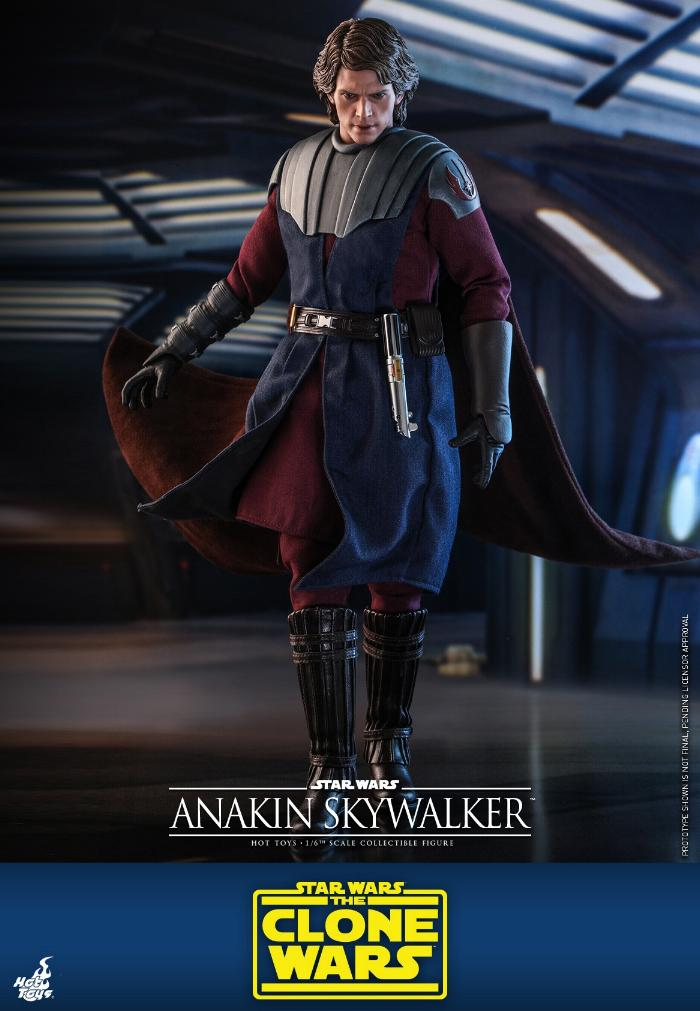 Anakin Skywalker (The Clone Wars version) Sixth Scale Figure Anakin60