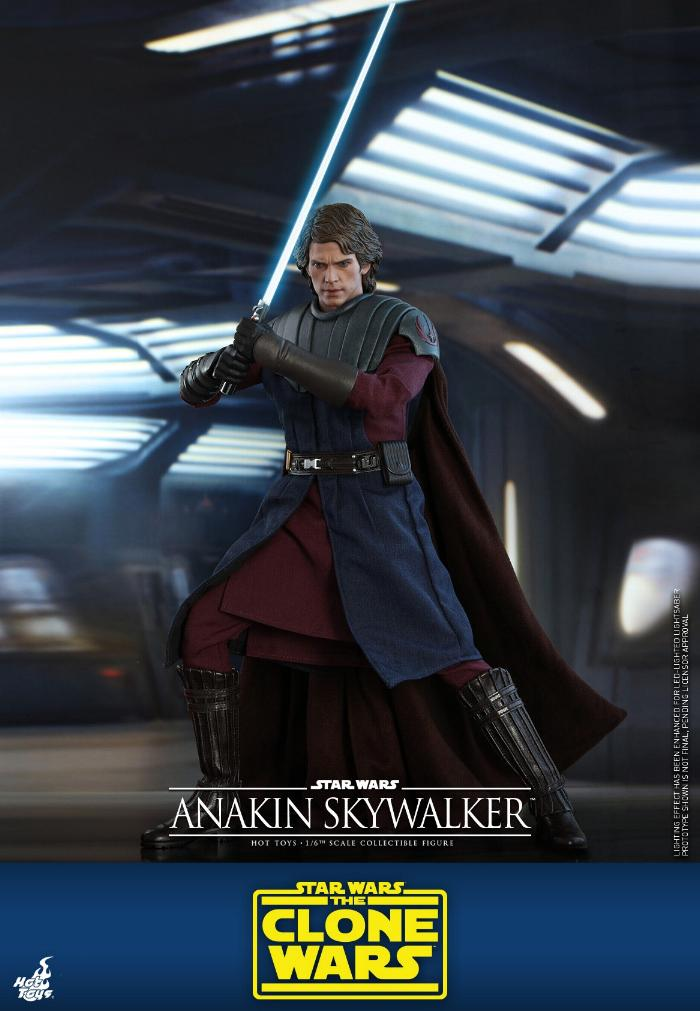 Anakin Skywalker (The Clone Wars version) Sixth Scale Figure Anakin61