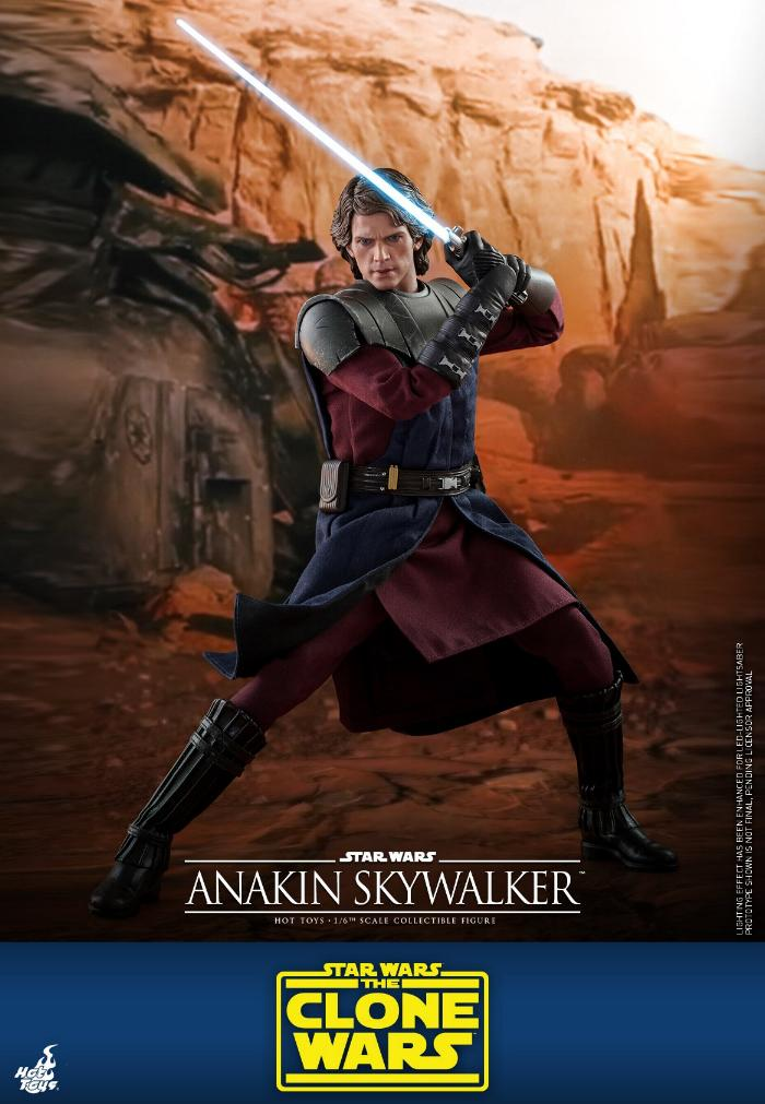 Anakin Skywalker (The Clone Wars version) Sixth Scale Figure Anakin62