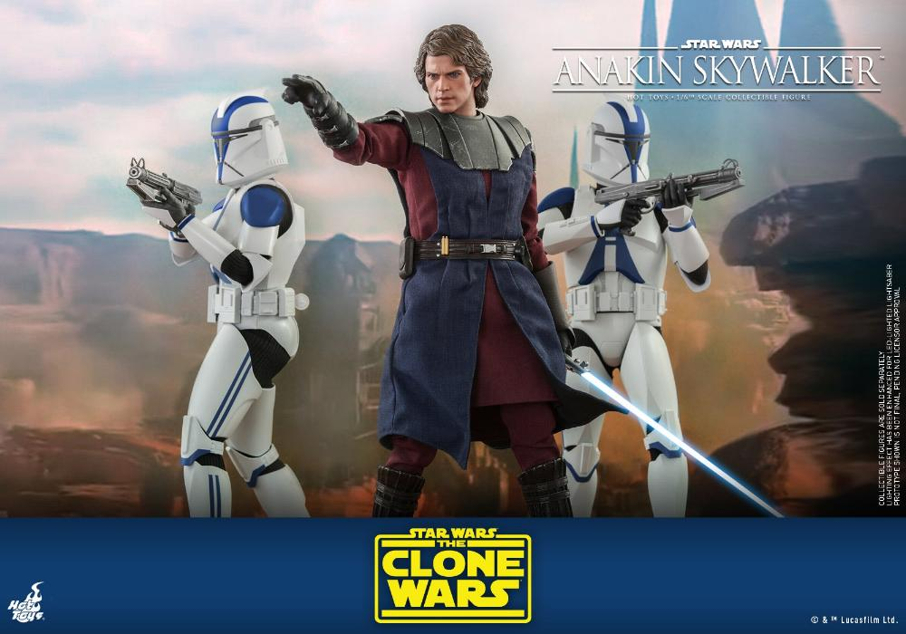 Anakin Skywalker (The Clone Wars version) Sixth Scale Figure Anakin63