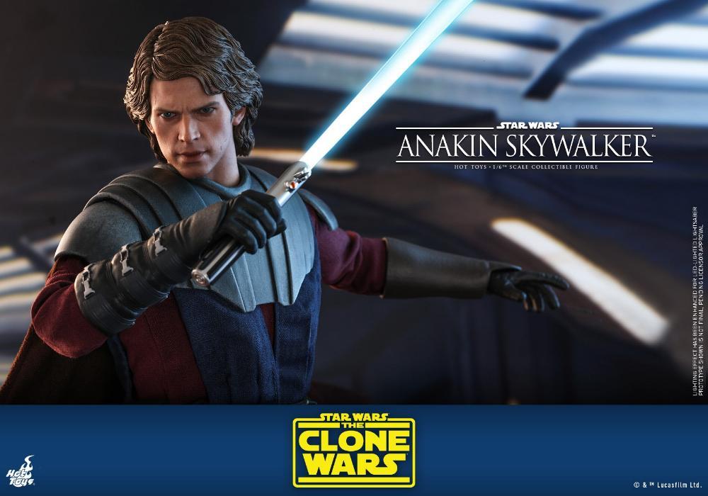 Anakin Skywalker (The Clone Wars version) Sixth Scale Figure Anakin64