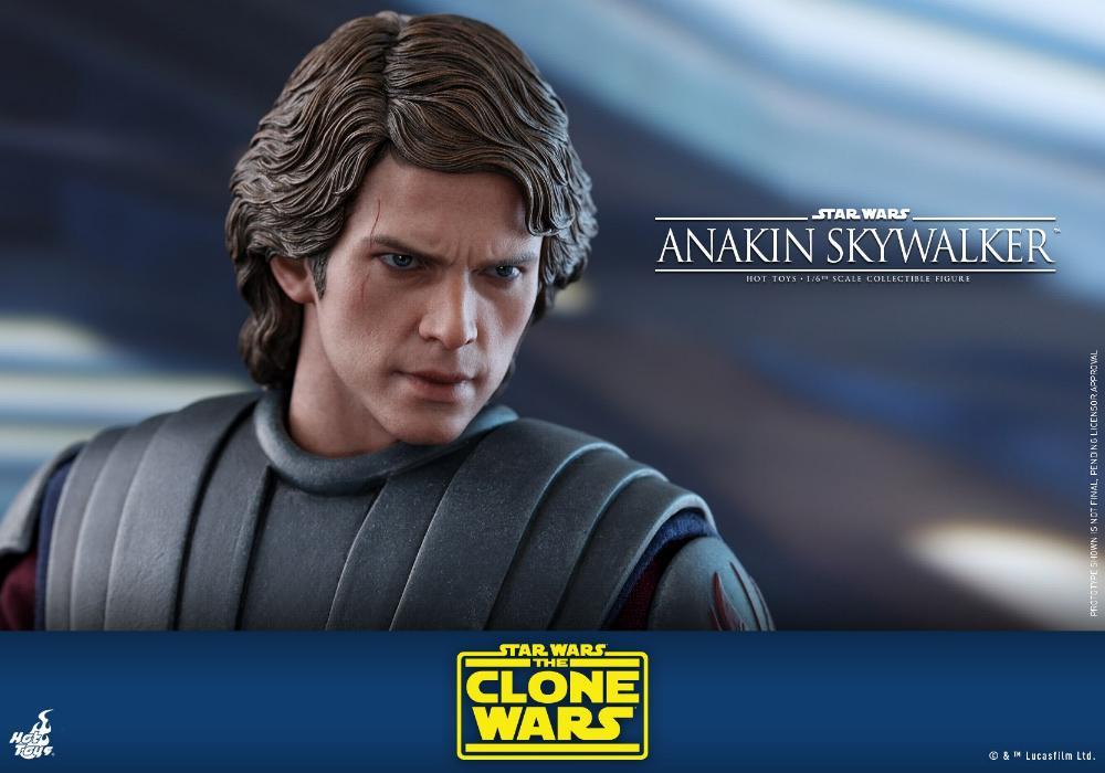 Anakin Skywalker (The Clone Wars version) Sixth Scale Figure Anakin65
