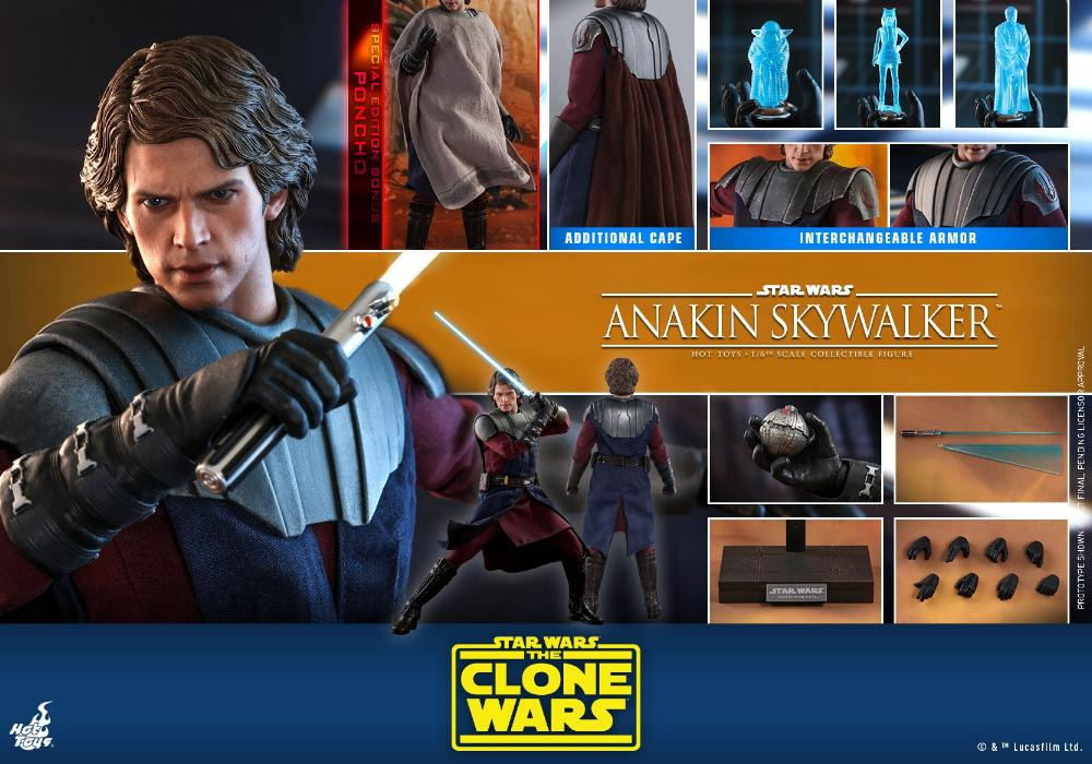 Anakin Skywalker (The Clone Wars version) Sixth Scale Figure Anakin67