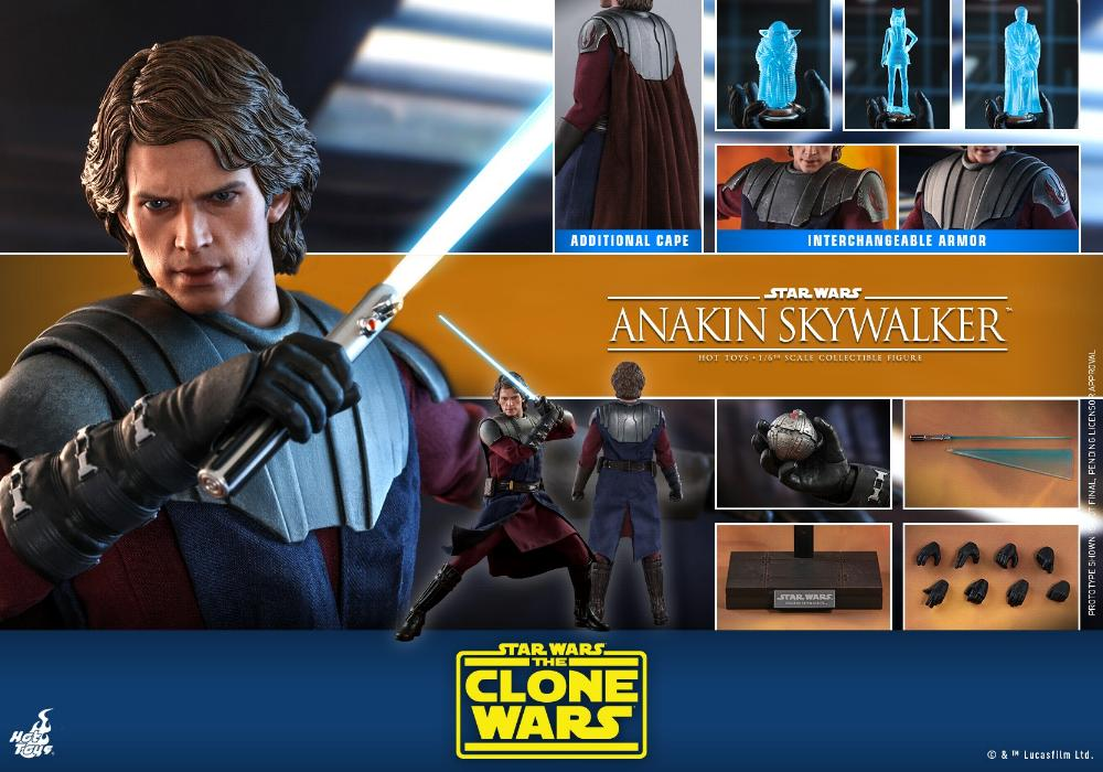 Anakin Skywalker (The Clone Wars version) Sixth Scale Figure Anakin68