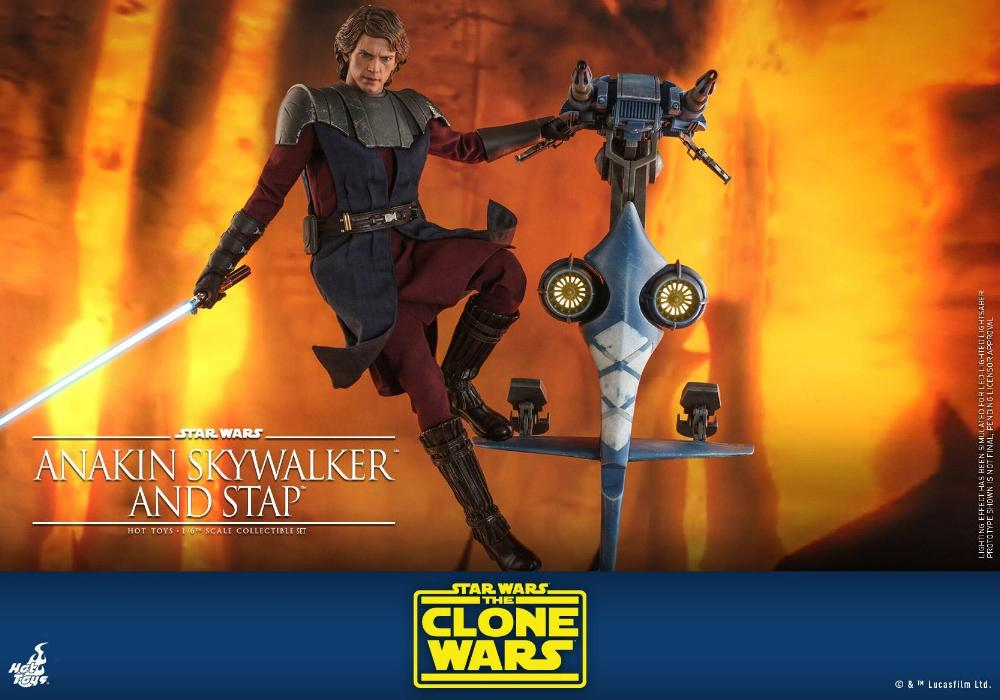 Anakin Skywalker and STAP Collectible Set (The Clone Wars) Anakin71