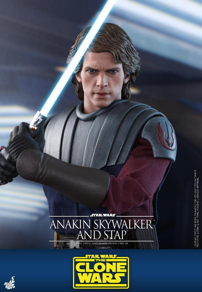 Anakin Skywalker and STAP Collectible Set (The Clone Wars) Anakin72
