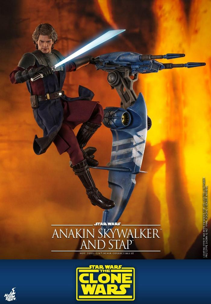 Anakin Skywalker and STAP Collectible Set (The Clone Wars) Anakin73