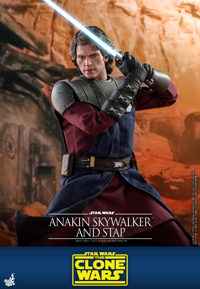 Anakin Skywalker and STAP Collectible Set (The Clone Wars) Anakin74