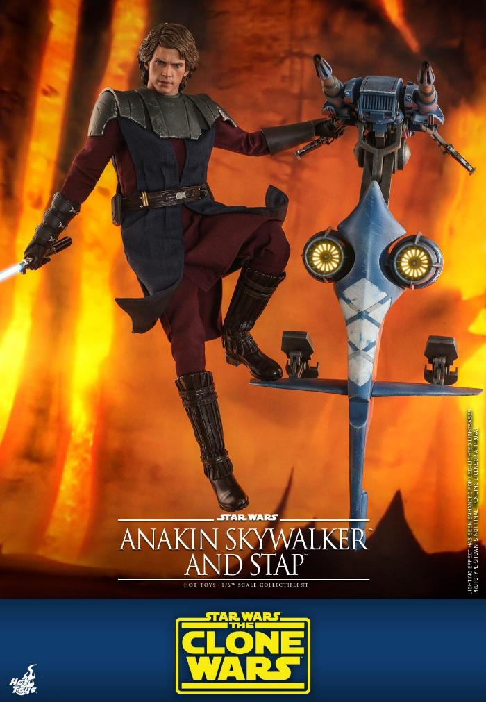 Anakin Skywalker and STAP Collectible Set (The Clone Wars) Anakin75
