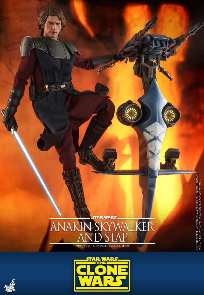 Anakin Skywalker and STAP Collectible Set (The Clone Wars) Anakin77