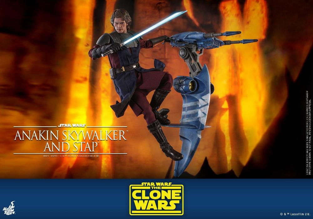 Anakin Skywalker and STAP Collectible Set (The Clone Wars) Anakin80