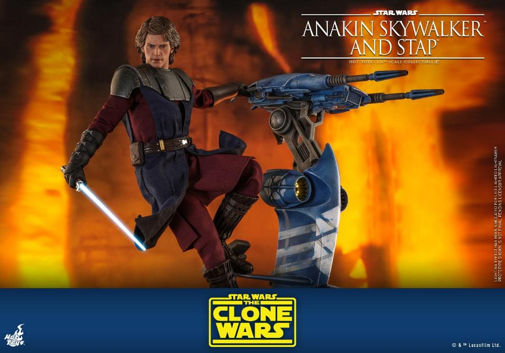 Anakin Skywalker and STAP Collectible Set (The Clone Wars) Anakin81