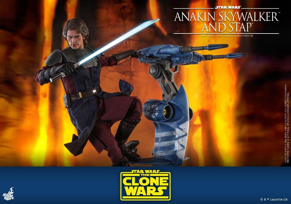 Anakin Skywalker and STAP Collectible Set (The Clone Wars) Anakin82