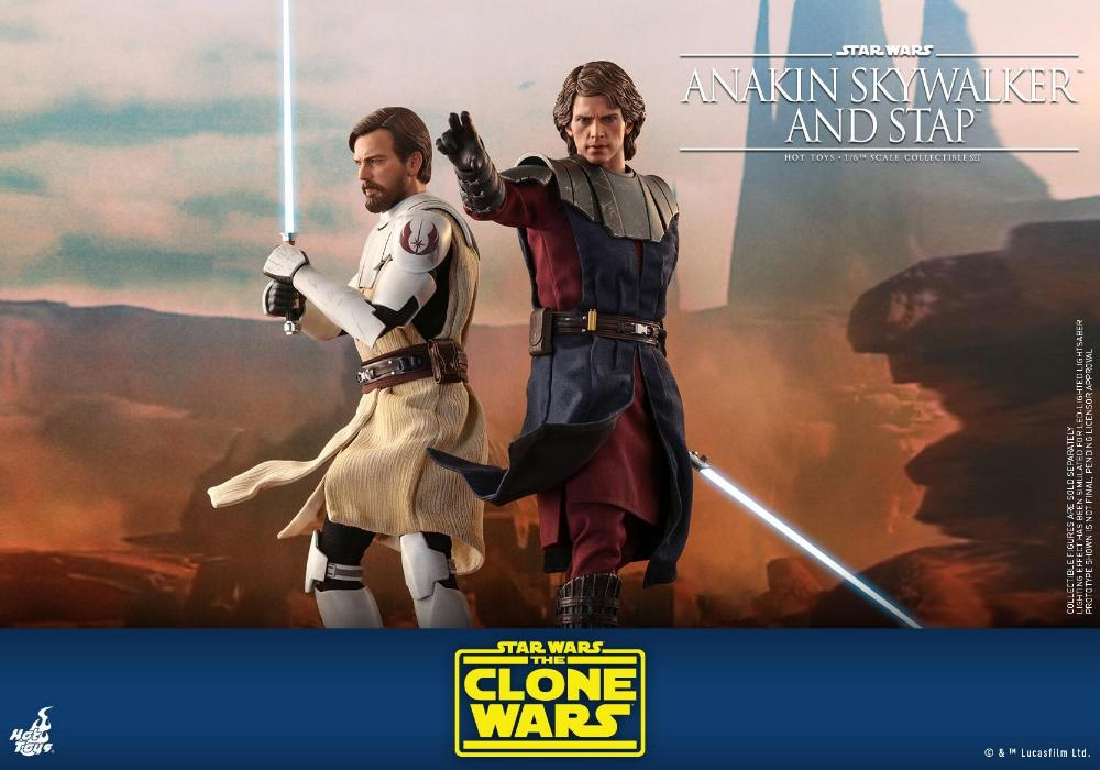 Anakin Skywalker and STAP Collectible Set (The Clone Wars) Anakin83