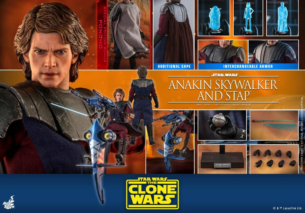 Anakin Skywalker and STAP Collectible Set (The Clone Wars) Anakin86