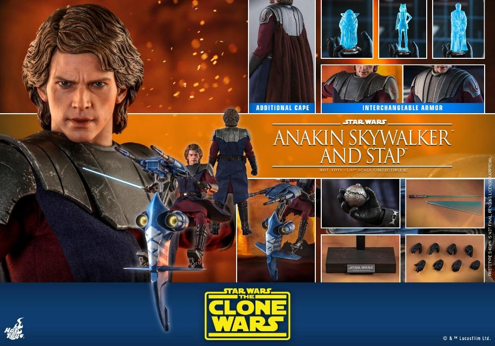 Anakin Skywalker and STAP Collectible Set (The Clone Wars) Anakin87