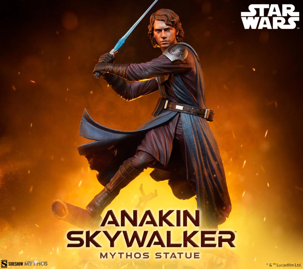 Anakin Skywalker Mythos Statue - Star Wars Sideshow Anakin88