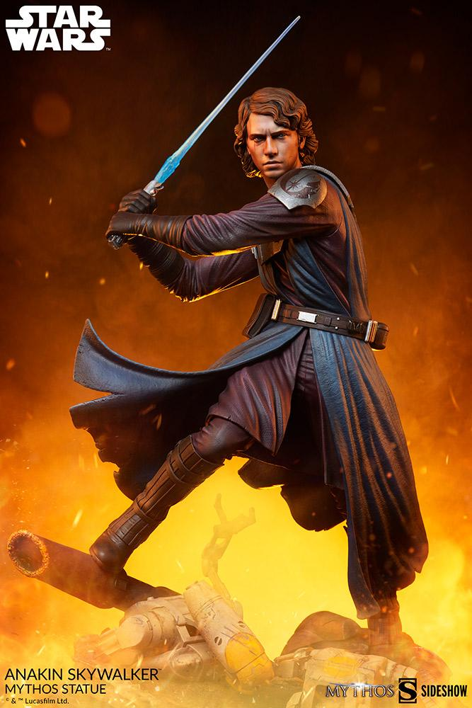 Anakin Skywalker Mythos Statue - Star Wars Sideshow Anakin94