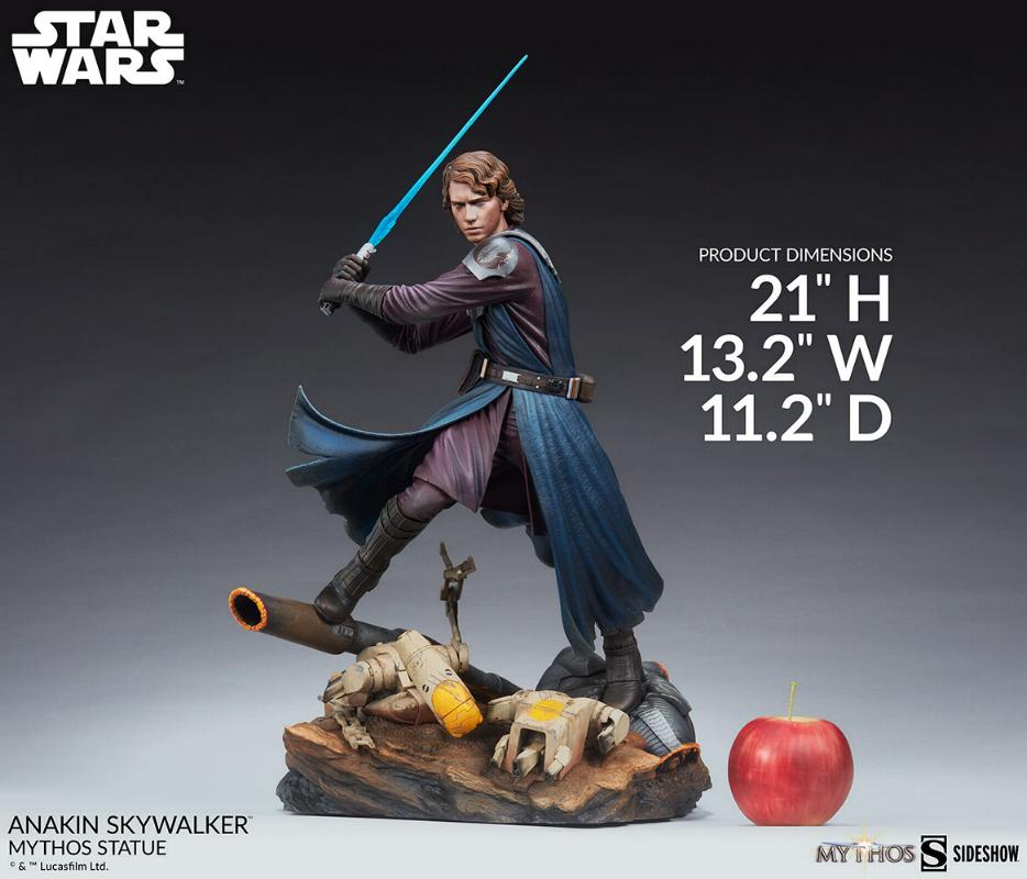 Anakin Skywalker Mythos Statue - Star Wars Sideshow Anakin98