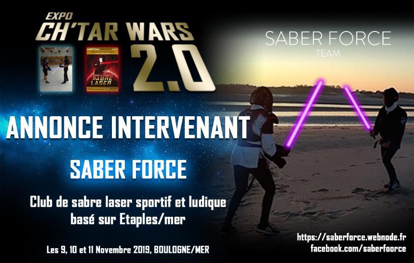 Expo CH'TAR WARS 2.0 Du 09 au 11 Novembre 2019 Annonc10