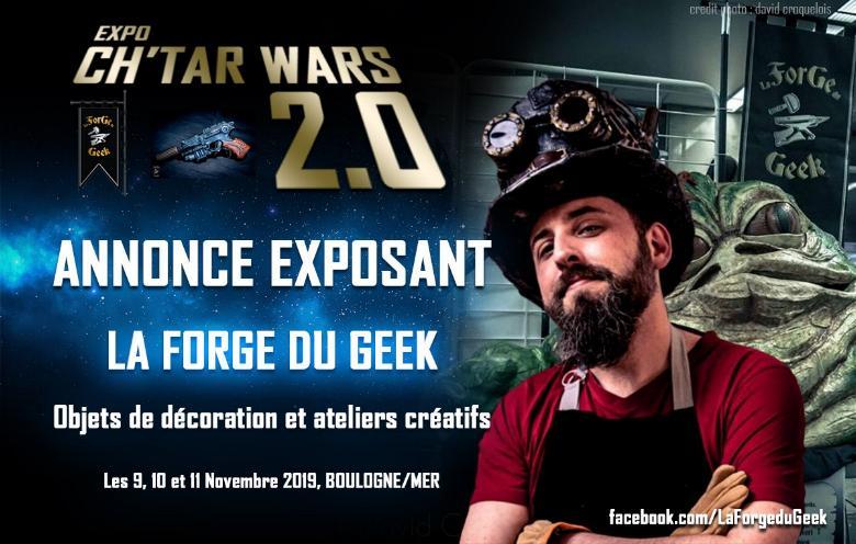 Expo CH'TAR WARS 2.0 Du 09 au 11 Novembre 2019 Annonc11