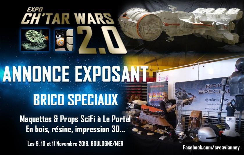 Expo CH'TAR WARS 2.0 Du 09 au 11 Novembre 2019 Annonc12