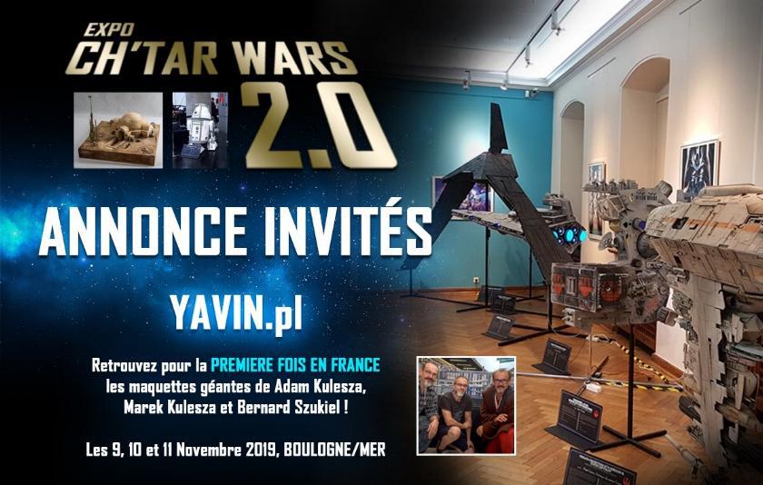 Expo CH'TAR WARS 2.0 Du 09 au 11 Novembre 2019 Annonc13