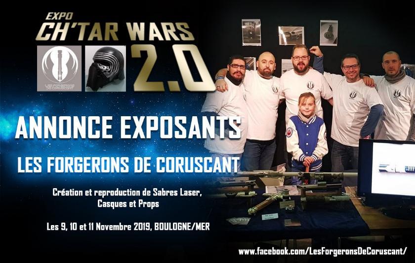 Expo CH'TAR WARS 2.0 Du 09 au 11 Novembre 2019 Annonc15