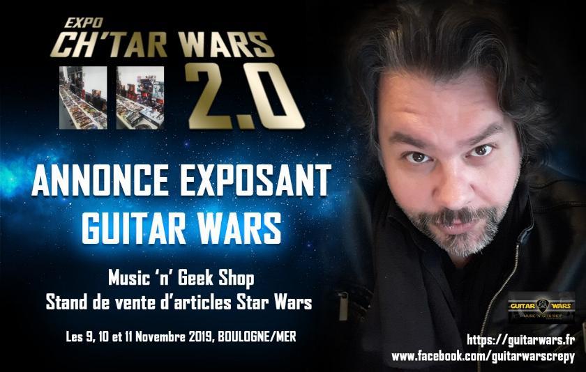 Expo CH'TAR WARS 2.0 Du 09 au 11 Novembre 2019 Annonc16