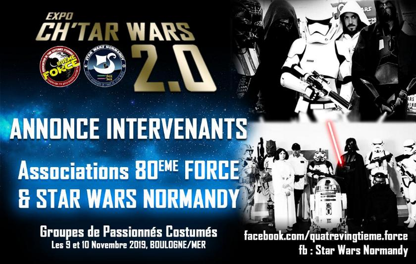 Expo CH'TAR WARS 2.0 Du 09 au 11 Novembre 2019 Annonc17
