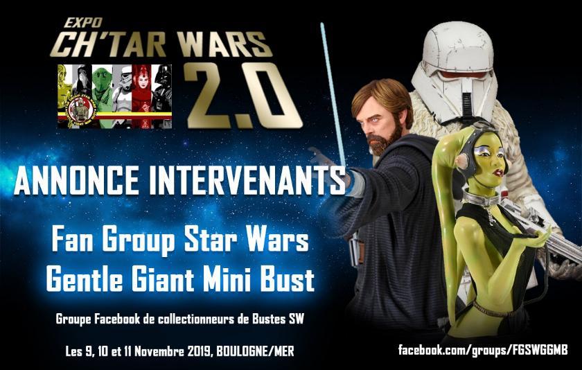 Expo CH'TAR WARS 2.0 Du 09 au 11 Novembre 2019 Annonc18
