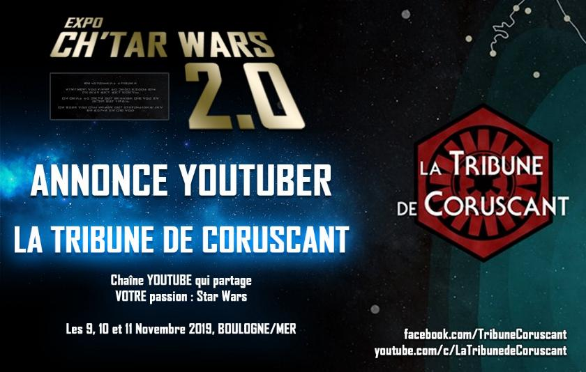 Expo CH'TAR WARS 2.0 Du 09 au 11 Novembre 2019 Annonc19