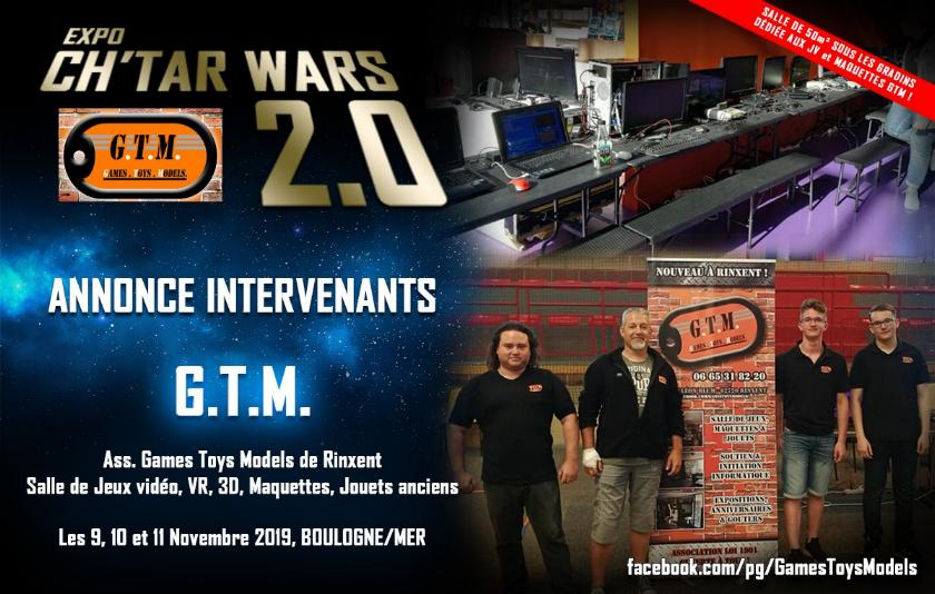 Expo CH'TAR WARS 2.0 Du 09 au 11 Novembre 2019 Annonc22