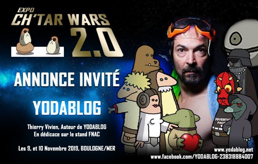Expo CH'TAR WARS 2.0 Du 09 au 11 Novembre 2019 Annonc23