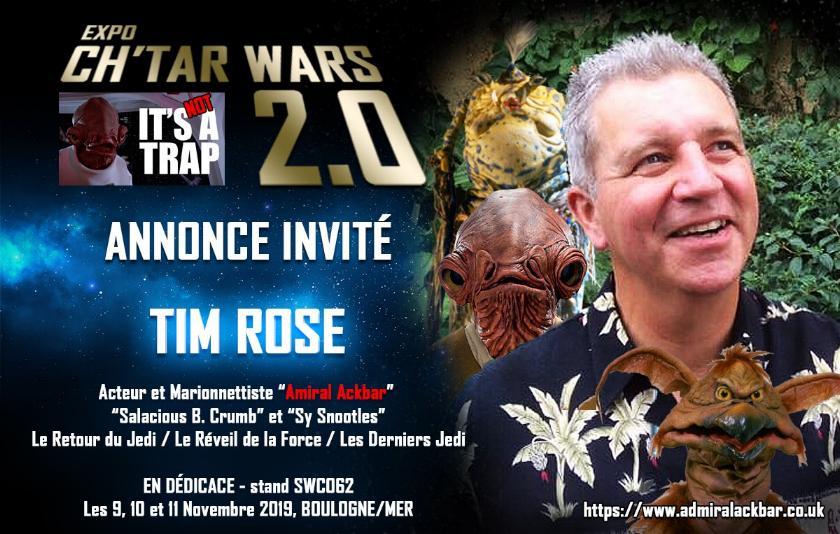 Expo CH'TAR WARS 2.0 Du 09 au 11 Novembre 2019 Annonc24