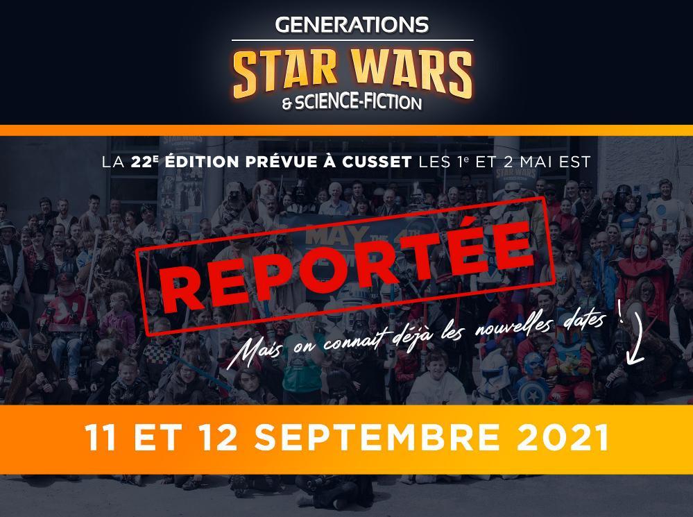 Générations Star Wars et SF 2021 - 11 et 12 septembre 2021 Annonc26