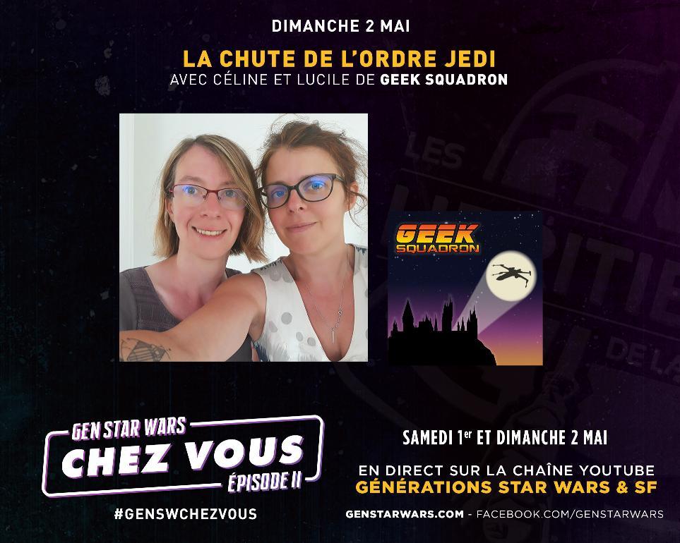 Générations Star Wars et SF Chez Vous - 1-2 mai 2021 Annonc38