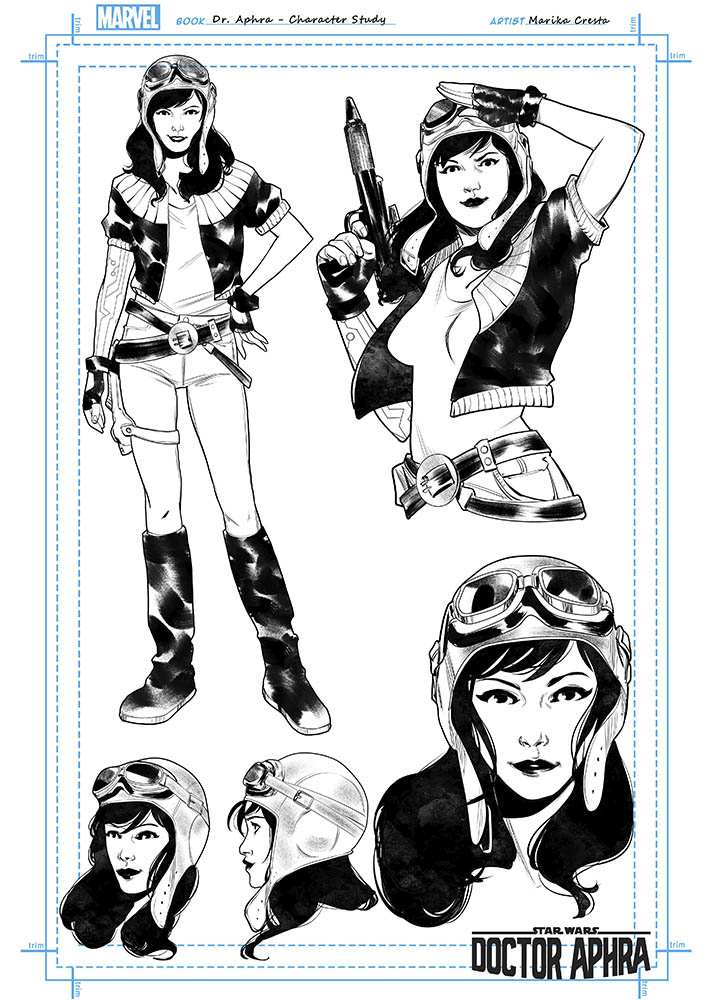 Star Wars Doctor Aphra 2020 - Marvel  Aphra_21