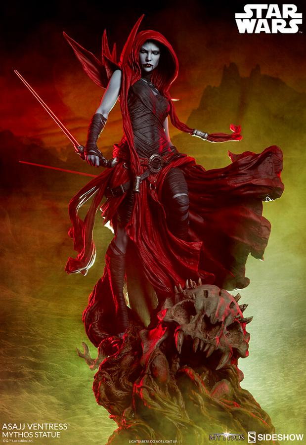 Asajj Ventress Mythos Statue - Sideshow Collectibles Asajj-13